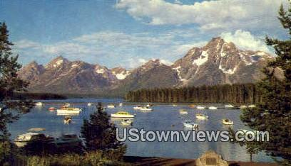 Colter Bay Village - Grand Teton National Park, Wyoming WY Postcard