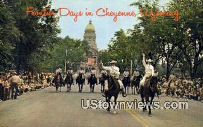 Frontier Days - Cheyenne, Wyoming WY Postcard