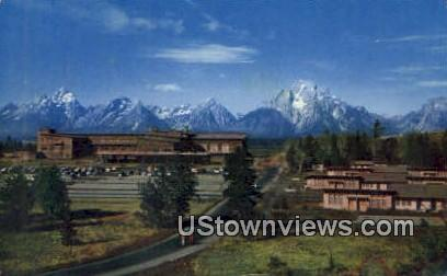 Jackson Lake Lodge - Grand Teton National Park, Wyoming WY Postcard