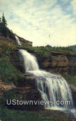 Hanging Gardens - Reynolds, Wyoming WY Postcard