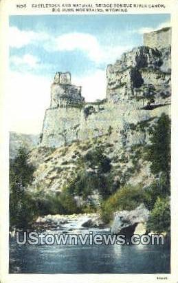 Castlerock - Big Horn Mountains, Wyoming WY Postcard