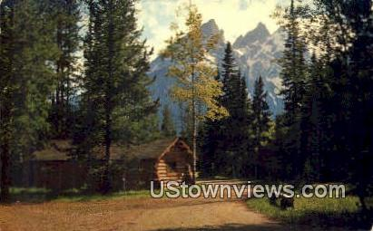 Jenny Lake Lodge - Grand Teton National Park, Wyoming WY Postcard