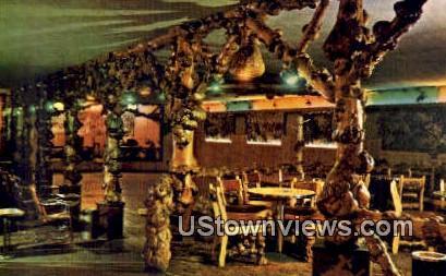 Cowboy Bar - Jackson, Wyoming WY Postcard
