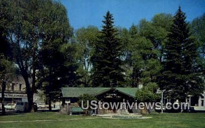 Kemmerer Museum - Wyoming WY Postcard