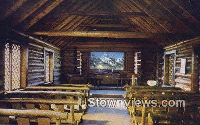 Chapel of the Transfiguration - Moose, Wyoming WY Postcard