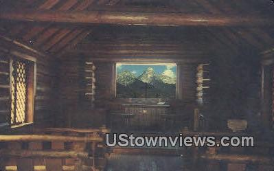 Majestic Teton Peaks - Jackson Hole, Wyoming WY Postcard
