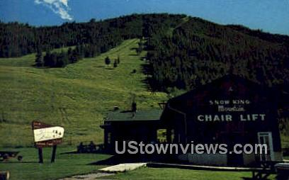 Ride the Chair Life - Jackson, Wyoming WY Postcard