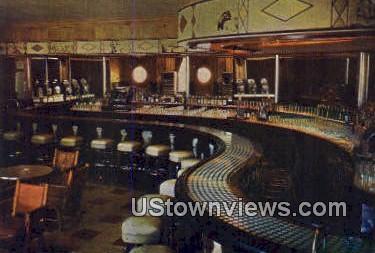 Silver Dollar Bar Wort Hotel - Jackson Hole, Wyoming WY Postcard