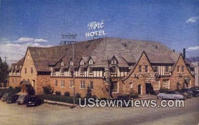 Wort Hotel - Jackson, Wyoming WY Postcard