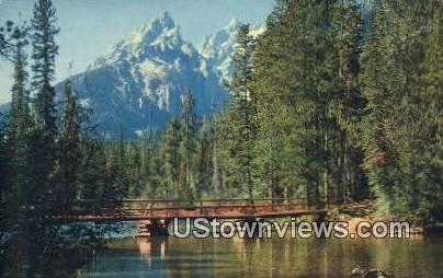 Grand Teton National Park, Wyoming, WY Postcard