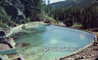 Granite Hot Springs - Jackson Hole, Wyoming WY Postcard
