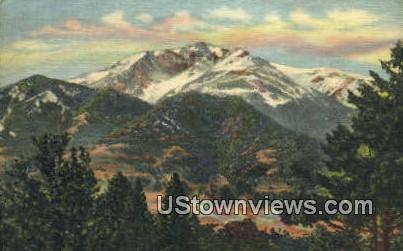 Electric Peak - Yellowstone National Park, Wyoming WY Postcard