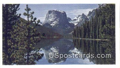 Square Top Mountain - Bridger National Forest, Wyoming WY Postcard