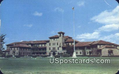 Veterans Hospital - Cheyenne, Wyoming WY Postcard