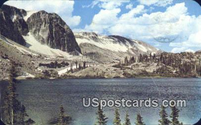 Lake Marie & Snowy Range - Saratoga, Wyoming WY Postcard