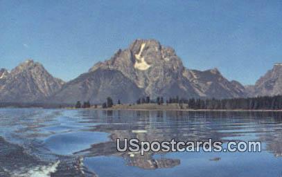 Mount Moran - Grand Teton National Park, Wyoming WY Postcard