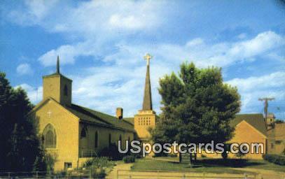 Methodist Church - New Castle, Wyoming WY Postcard