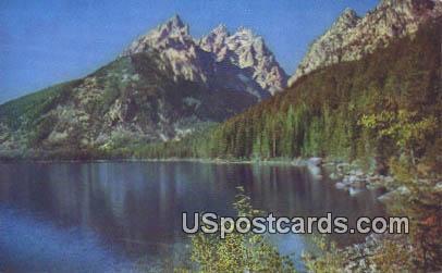 Jenny Lake, Wyoming Postcard      ;      Jenny Lake, WY