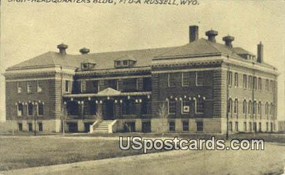 Headquarters Building - Russell, Wyoming WY Postcard