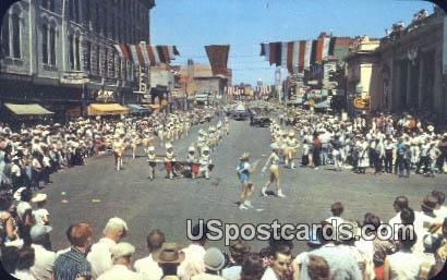 Frontier Days Parade - Cheyenne, Wyoming WY Postcard