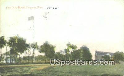 Fort DA Russel - Cheyenne, Wyoming WY Postcard