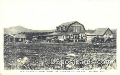 Old Occidental Hotel - Buffalo, Wyoming WY Postcard