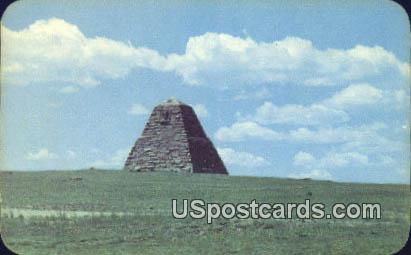 Ames Monument, Sherman Hill - Cheyenne, Wyoming WY Postcard