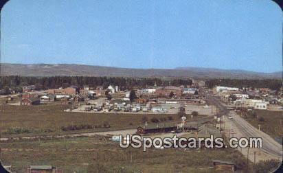 Pinedale, WY Postcard       ;      Pinedale, Wyoming
