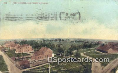 Fort Russell - Cheyenne, Wyoming WY Postcard