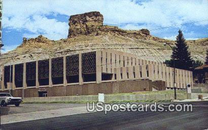 Castle Rock, WY Postcard       ;      Castle Rock, Wyoming