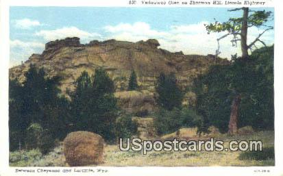 Vedauwoo Glen, Sherman Hill - Laramie, Wyoming WY Postcard