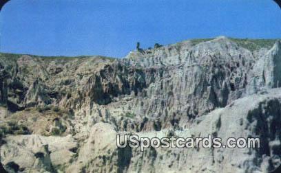 Hells Half Acre - Powder River, Wyoming WY Postcard
