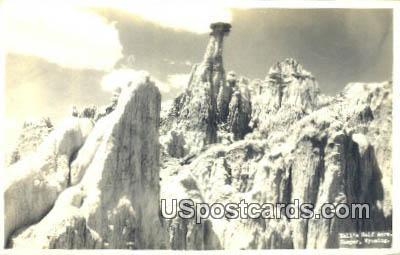 Real Photo Hells Half Acre - Casper, Wyoming WY Postcard