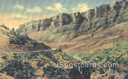 Shell Canon - Greybull, Wyoming WY Postcard
