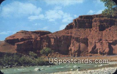 Red Rocks, Wind River - Duboise, Wyoming WY Postcard
