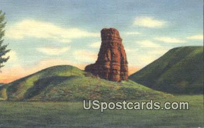Red Pillar - Big Horn Mountains, Wyoming WY Postcard