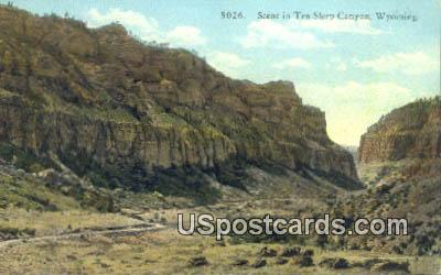 Ten Sleep Canyon, WY Postcard       ;      Ten Sleep Canyon, Wyoming