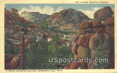 Union Pacific System - Sherman Hill, Wyoming WY Postcard