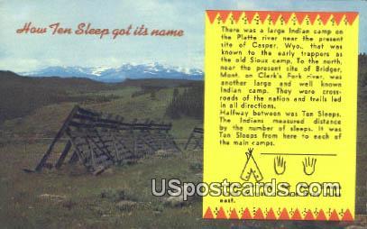 Yellowstone National Park, WY Postcard       ;      Yellowstone National Park, Wyoming