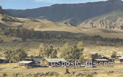Trail Inn & Motel - Wapiti, Wyoming WY Postcard