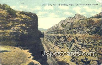 Shale Ccute - Wilkins, Wyoming WY Postcard