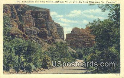 Ten Sleep Canyon, Wyoming Postcard      ;      Ten Sleep Canyon, WY