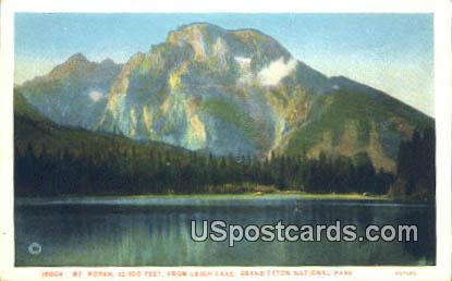 Leigh Lake - Grand Teton National Park, Wyoming WY Postcard