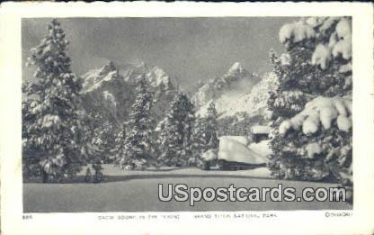 Tetons - Grand Teton National Park, Wyoming WY Postcard