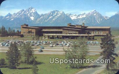 Jackson Lake Lodge & Range - Grand Teton National Park, Wyoming WY Postcard