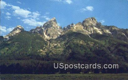 Grand Tetons, WY Postcard       ;      Grand Tetons, Wyoming