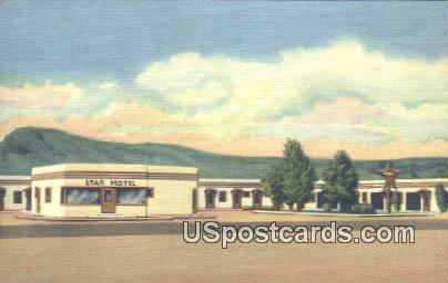 Star Motel - Green River, Wyoming WY Postcard