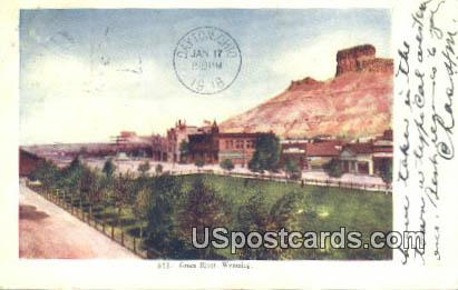 Green River, Wyoming Postcard      ;      Green River, WY
