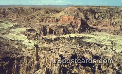 Hells Half Acre - Casper, Wyoming WY Postcard