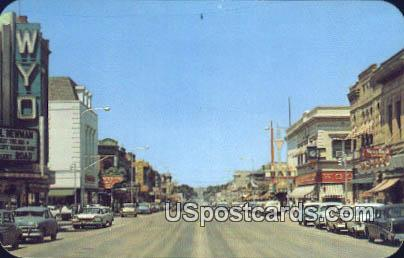 Business District - Sheridan, Wyoming WY Postcard
